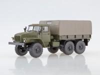 1:43 Армейский грузовик 6x6 4320 с тентом (ограниченная серия,хаки)
