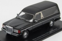 1:43 MERCEDES BENZ W123 Hearse (катафалк) 1978 Black