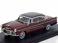 1:43 DESOTO Firedome 4-Door Seville 1956 Metallic Dark Red/Black