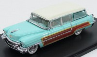 1:43 CADILLAC Series 62 Viewmaster Hess & Eisenhard Wagon 1956 Turquoise/White