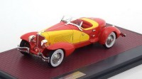 1:43 CORD L-29 Speedster by LaGrande 1931 Yellow/Red