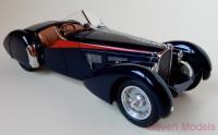 1:18 Bugatti 57 SC Corsica Roadster 1938, L.e. 300 pcs. (red stripes)