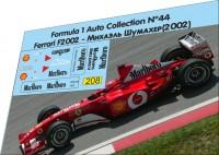 1:43 набор декалей Formula 1 №44 Ferrari 2002 Schumacher