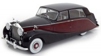 1:18 ROLLS ROYCE Silver Wraith Empress by Hooper 1956 Black/Maroon