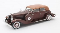 1:43 DUESENBERG JN 559-2587 Long Wheel Base Berline Rollston/Bohman & Schwartz 1935 Dark Brown Metallic