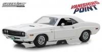 """1:18 DODGE Challenger R/T 1970 White (из к/ф """"Исчезающая точка"""")"""
