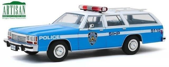 """1:18 FORD LTD Crown Victoria Wagon """"New York City Police Department"""" (NYPD) 1988"""