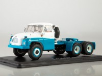 1:43 Tatra-138 NT 6x6 седельный тягач, голубой / белый