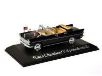 1:43 SIMCA Chambord V-8 présidentielle Visite des Kennedy Charles de Gaulle 1961