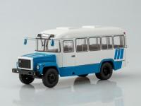 1:43 Курганский автобус 3976 пригородный (бело-голубой)