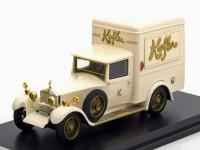 """1:43 ROLLS ROYCE Twenty Park Ward Delivery Van """"Kofler Lucerne"""" 1928 White"""