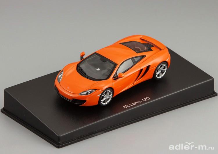 1:43 McLaren MP4-12C 2011 (metallic orange)