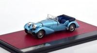1:43 BUGATTI T57SC Sports Tourer Vanden Plas #57541 (открытый) 1938 Metallic Light Blue