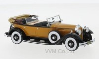1:43 PACKARD 733 Straight 8 Sport Phaeton 1930 Dark Beige/Black
