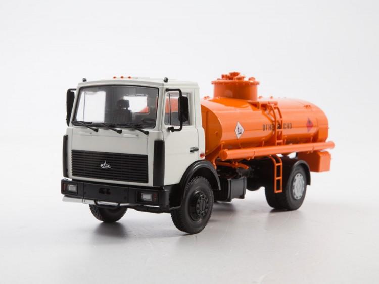 1:43 АЦ-9 (5337) белый/оранжевый