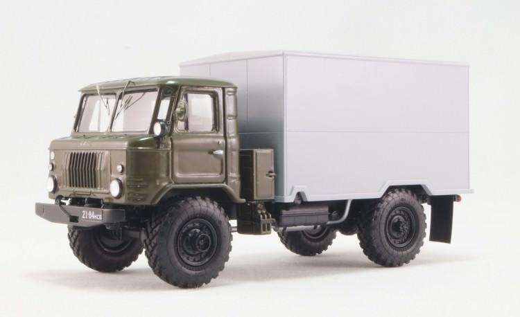 1:43 Горький-66-05 фургон ГЗСА-3713 гражданский