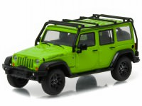 "1:43 JEEP Wrangler 4х4 Unlimited ""Moab Edition"" 2013 Gecko Green"