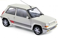 "1:18 Renault 5 GT Turbo ""Supercinq"" 1989 Panda White"