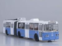 1:43 ЗиУ-10 (ЗиУ-683) троллейбус (бело-голубой)