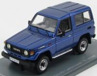 1:43 Toyota Land Cruiser LJ70 Metal Blue 1986