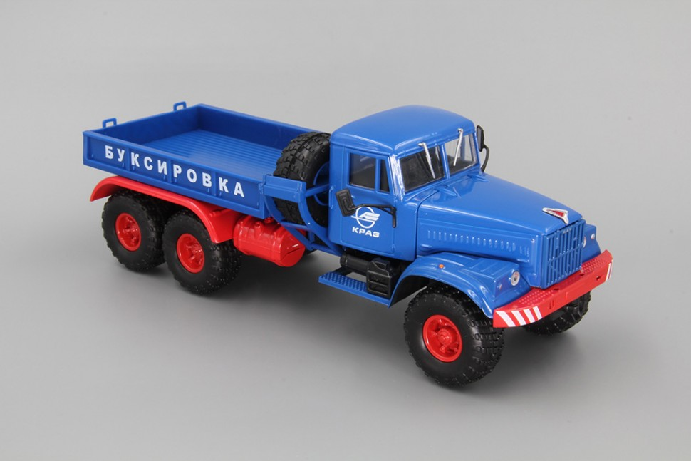Scale car 1:43 KrAZ-255В1 tractor ballast