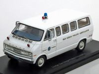 "1:43 DODGE Sportsman ""San Diego Police ambulance"" (Полиция-Медпомощь Сан-диего) 1973"