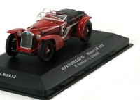 1:43 ALFA ROMEO 8C #8 R.Sommer/L.Chinetti Winner Le Mans 1932