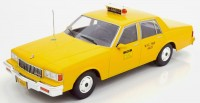 "1:18 CHEVROLET Caprice Sedan ""New York City Taxi"" 1991 Yellow"