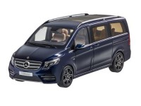 1:18 MERCEDES-BENZ V-Klasse (W447) 2014 Metallic Blue