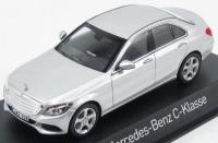 1:43 MERCEDES-BENZ C-Klasse Exclusive (W205) 2014 Silver