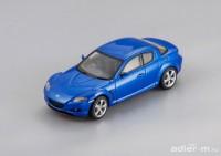 1:43 Mazda RX-8 (RHD) 2003 (winning blue)