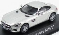 1:43 MERCEDES-AMG GT (С190) 2015 Silver