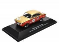 "1:43 FORD Escort Mk.I Twin Cam #16 Frank Gardner ""Alan Mann Racing"" BTCC Champion 1968"