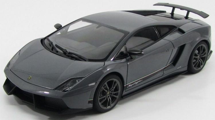1:18 Lamborghini Gallardo LP570-4 Superleggera 2010 (metallic grey)
