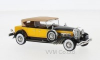1:43 DUESENBERG Model SJ Tourster Derham 1932 Dark Beige/Black