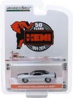 1:64 DODGE HEMI Challenger R/T 426 HEMI 50 Years1970 Silver