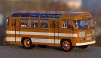 1:43 Павловский автобус 672 жёлто-белый