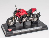 1:24 DUCATI Monster 1200 S 2014 Red