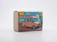 1:43 Сборная модель Фургон ЕРАЗ-763