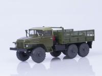 1:43 Уральский грузовик 375 (тентованная кабина) бортовой, хаки