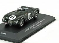 1:43 JAGUAR XK120C #18 T.Bolt/D.Hamilton Winner Le Mans 1953