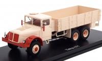 1:43 TATRA 111 R (бортовой грузовик) 1947 Beige/Red