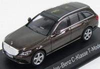 1:43 MERCEDES-BENZ C-Klasse Estate Exclusive (S205) 2014 Brown Metallic