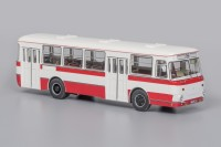 1:43 Автобус 677М (1978), бело-красный