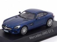 1:43 MERCEDES-AMG GT S (С190) 2015 Blue Metallic