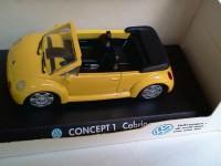 1:43 Volkswagen Concept 1 Cabrio 1994 (yellow)