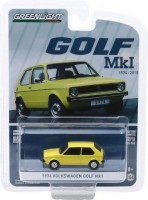 1:64 VW Golf Mk1 45th Anniversary 1974 Yellow