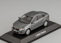 1:43 Lada Vesta - серый металлик