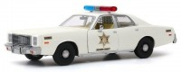 "1:24 PLYMOUTH Fury ""Hazzard County Sheriff"" 1977"