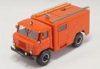 1:43 АСО-5 (66) мод.90 Автомобиль связи и освещения на шасси Горький-66-01 образца 1971 года